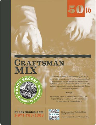 Buddy Rhodes Craftsman Mix Label