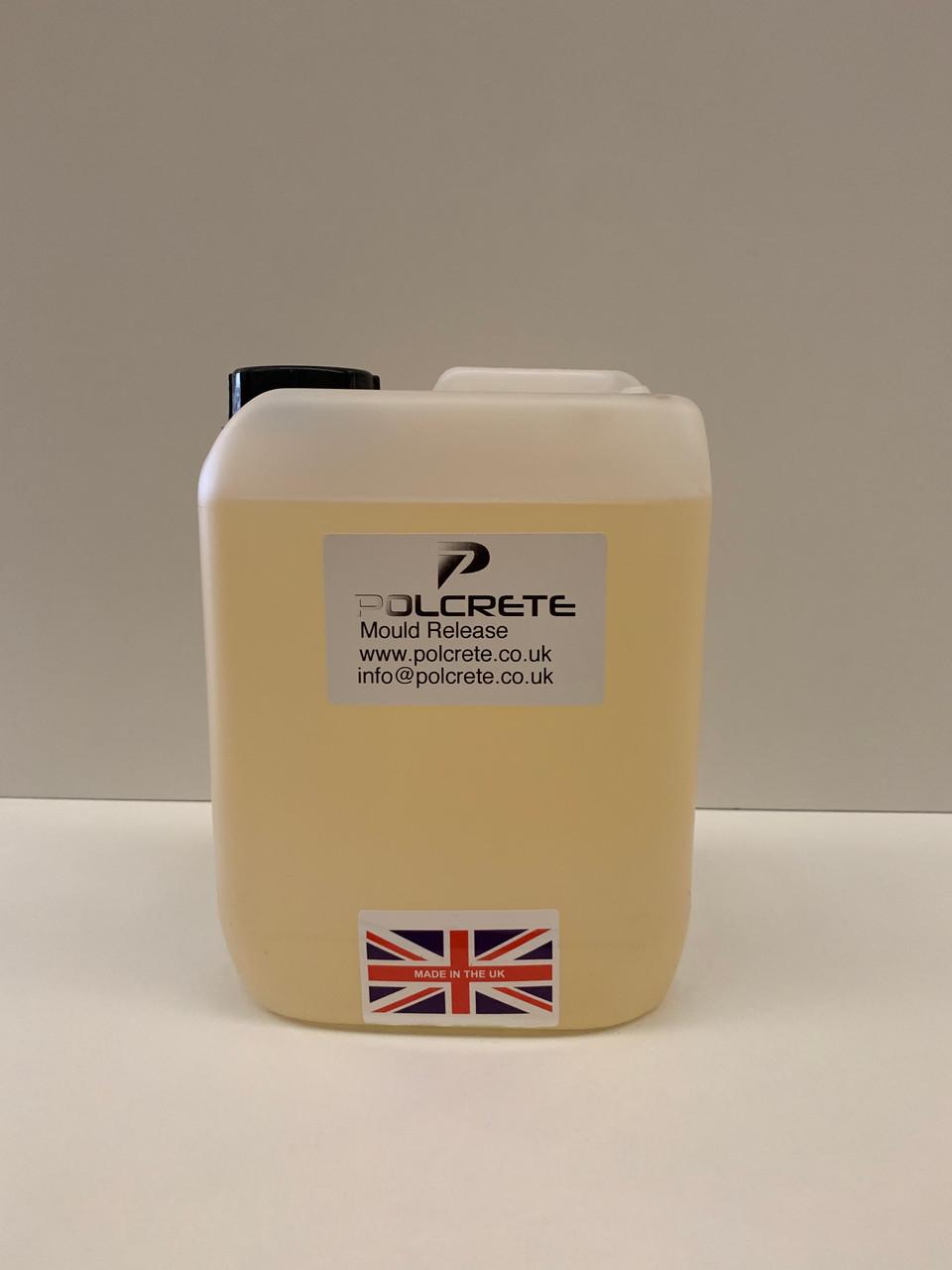 Polcrete Release Agent 5 Litres - Polcrete Ltd