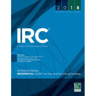 2018 International Residential Code book with amendments