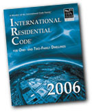 2006 International Residential Code (tabbed & highlighted)