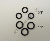 O-RING KIT HIGH PRESSURE WASH 1/2 & 3/8""