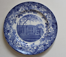 Harvard University Wedgwood Plate - Law School, Langdell Hall