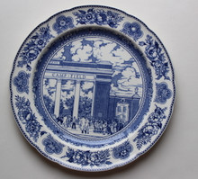 "Yale Wedgwood Plate - ""Camp Field"""