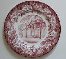 Harvard Wedgwood Plate Littauer Building