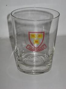 Harvard Cocktail Glass - Logo
