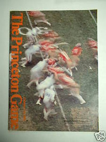 Harvard v. Princeton Football Program 1981