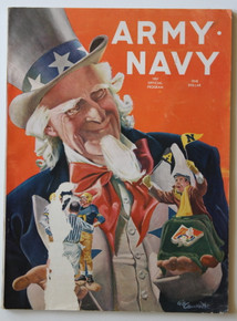 Army v. Navy Football Program 1957