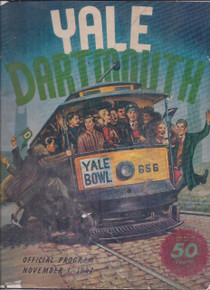 Dartmouth v. Yale Football Program 1947 - George Bush Sr.