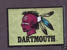 1960 Topps Foil Sticker Dartmouth