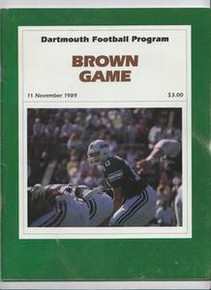 Dartmouth v. Brown Football Program 1989