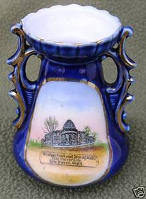 Antique Yale University Vase
