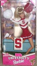 Stanford University Barbie Cheerleader