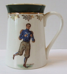 Yale University Antique F. Earl Christy Football Mug