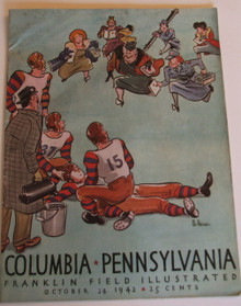 Columbia v. Penn Football Program 1942 - Jack Kerouac