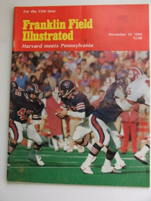 Harvard v. Penn Football Program 1984