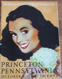 Princeton v. Penn Football Program 1948