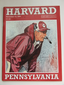 Harvard v. Penn Football Program 1993