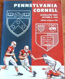 Penn v. Cornell Football Program 1966