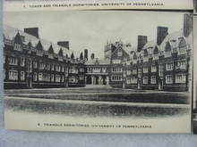 University of Pennsylvania Postcard - Dormitories