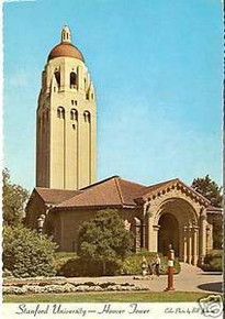 Stanford University Postcard - Hoover Tower
