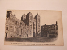 University of Pennsylvania Postcard - Tower and Triangle