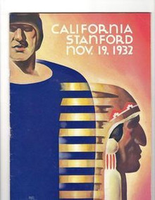 Stanford v. California Football Program 1932
