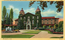 Stanford Linen Postcard - The Stanford Union