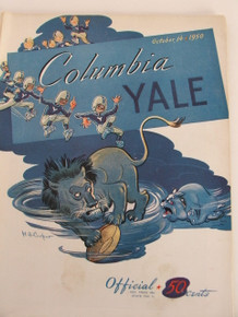 Columbia v. Yale Football Program 1950