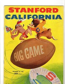 Stanford v. California Football Program 1956
