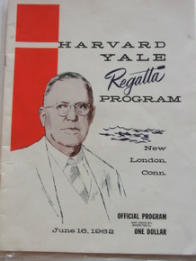 Harvard Yale Regatta Program 1962