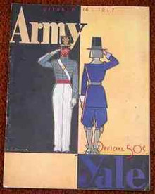 Army v. Yale Football Program 1937 Gerald Ford
