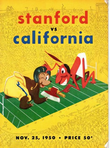Stanford v. California Football Program 1950