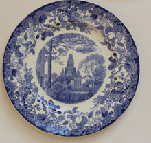 Harvard Wedgwood Plate - Memorial Hall