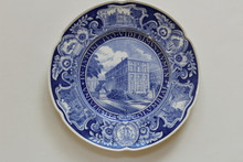 Columbia University Wedgwood Plate - Law School - Kent Hall