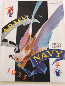 Army v. Navy Football Program 1935