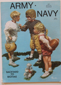 Army v. Navy Football Program 1971