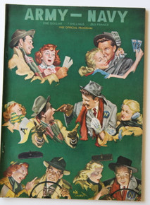 Army v. Navy Football Program 1955