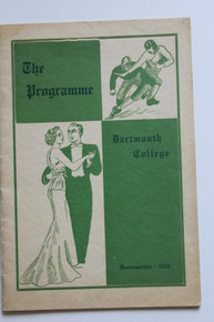 Dartmouth College Program 1935
