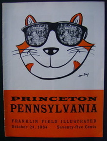 Princeton v. Penn Football Program 1964