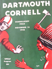 Dartmouth v.Cornell Football Program 1948