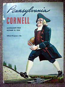 Cornell v. Penn Football Program 1964