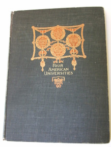 Four American Universities 1895 - Princeton, Columbia, Harvard, Yale