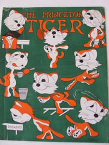 Princeton Tiger Magazine October 9, 1939 Cornell Game Edition