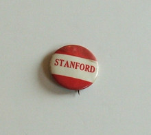 Stanford 1950s Pin back Button