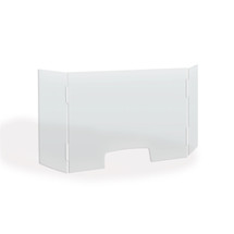 "TopLine Tri Fold Counter Shield 24 "" x 24 """