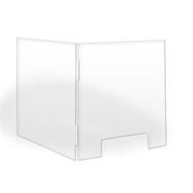 "TopLine L Shaped Counter Shield 24 "" x 30 """