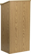 Oak Stand-Up Lectern