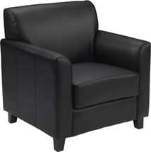 Diplomat Series Black Leather Chair