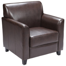 Diplomat Series Brown Leather Chair