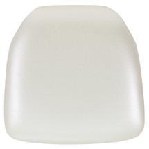Hard Ivory Vinyl Chiavari Chair Cushion